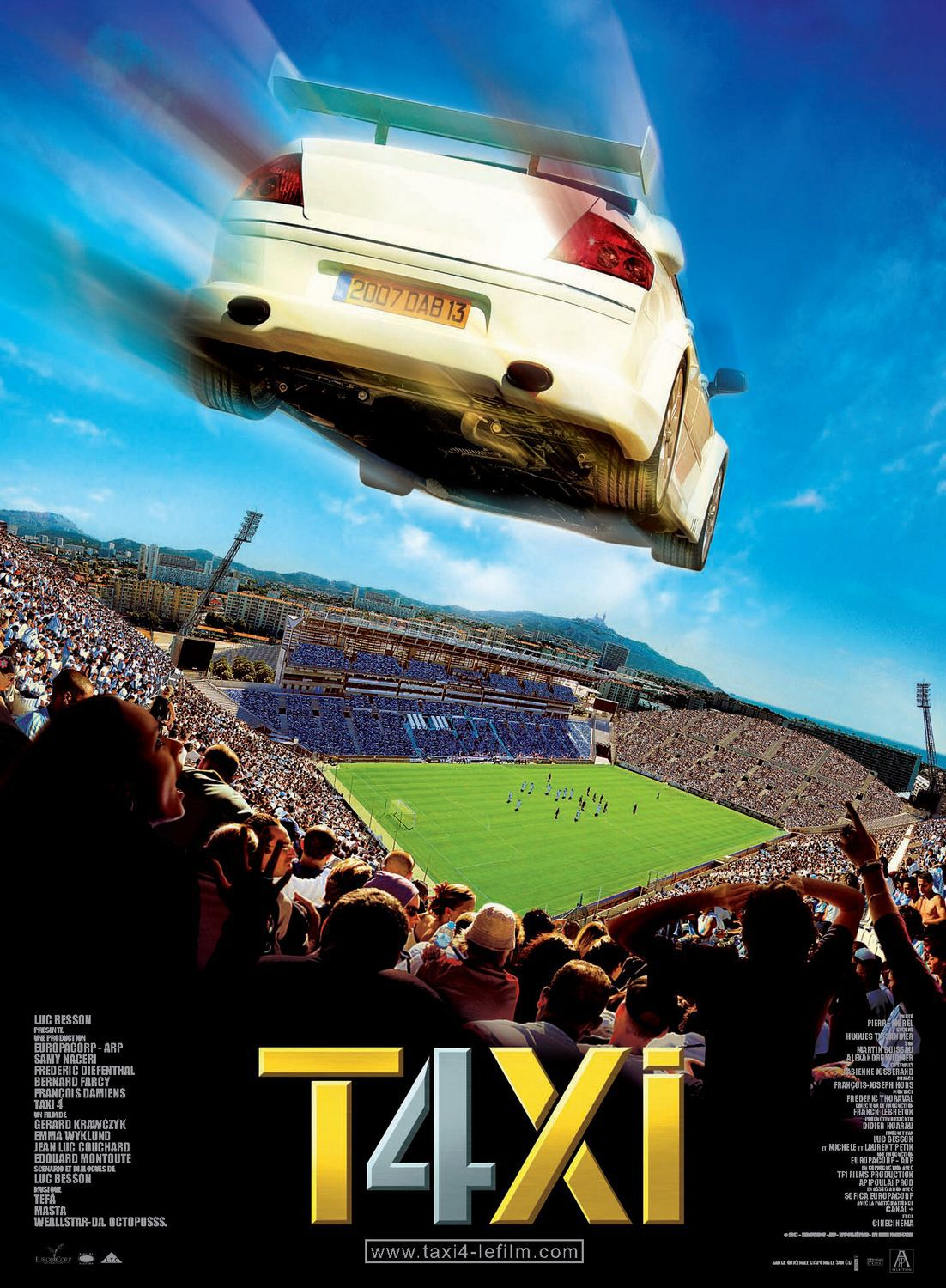Taxi 4 (2007) - film poster