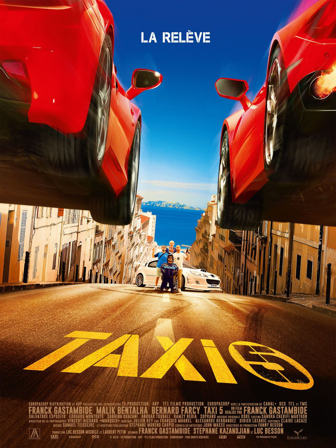 Taxi 5 (2018) - comedy film poster