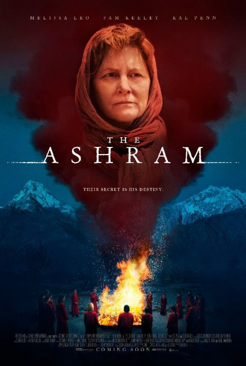 The Ashram - Their secret is his destiny - Cast: Melissa Leo, Sam Keeley, Kal Penn - film poster