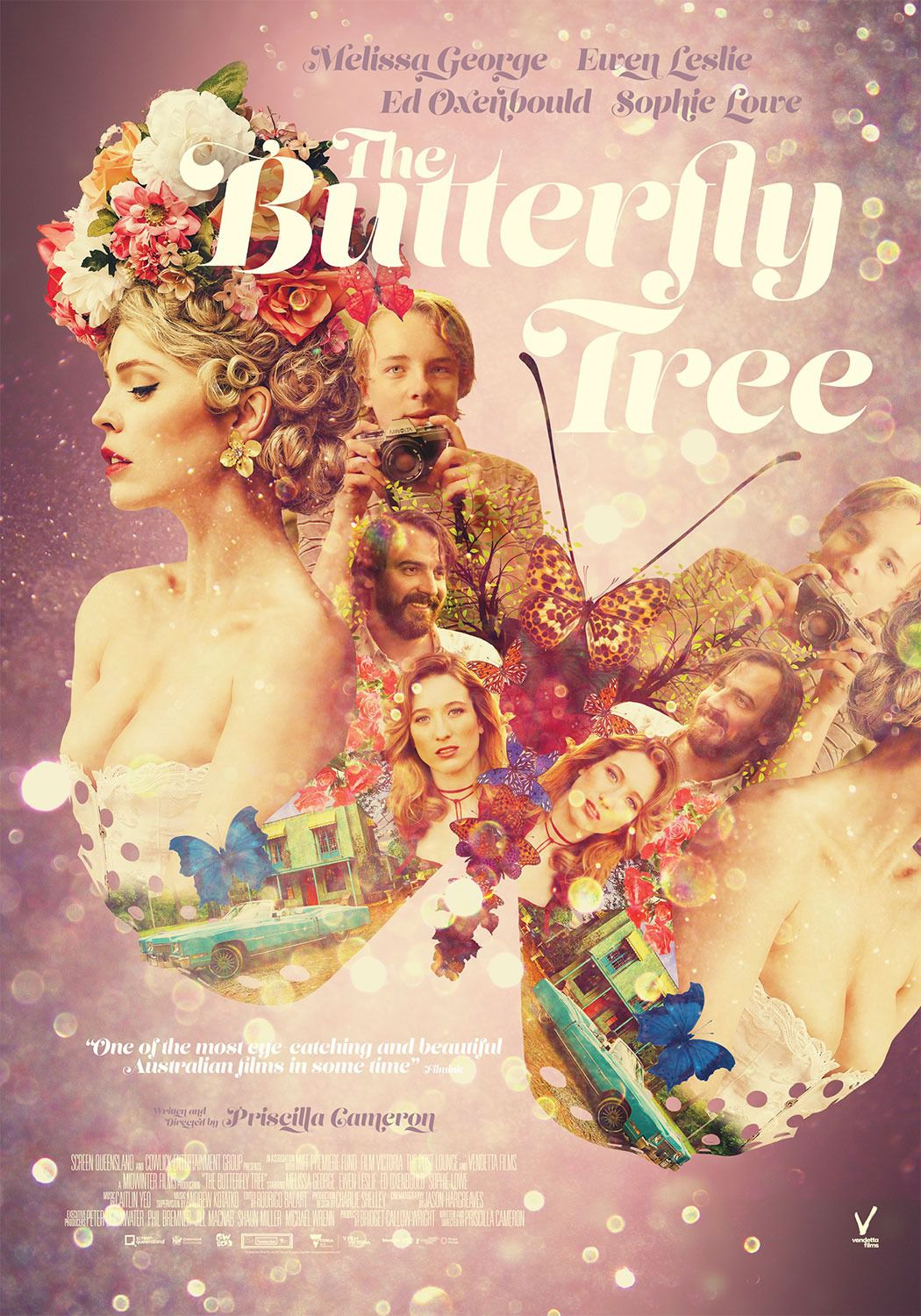The Butterfly Tree - Albero delle Farfalle - Cast: Melissa George, Ewen Leslie, Ed Oxenbould, Sophie Love - film poster