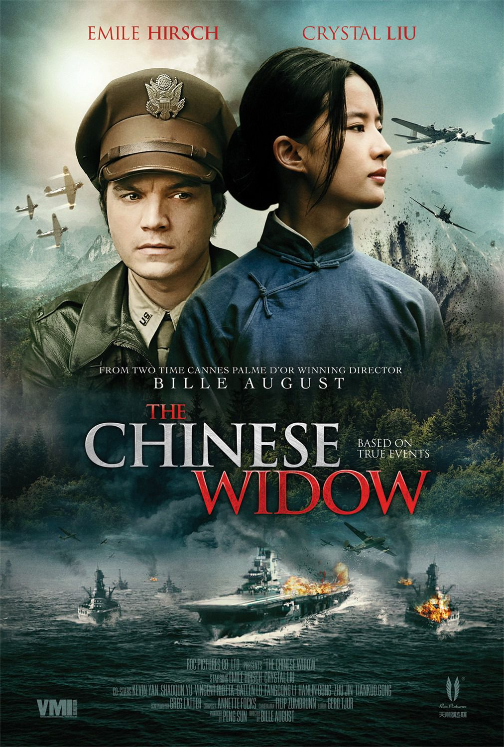 The Chinese Widow - Feng Huo Fang Fei - Emile Hirsch, Crystal Lie - war film poster