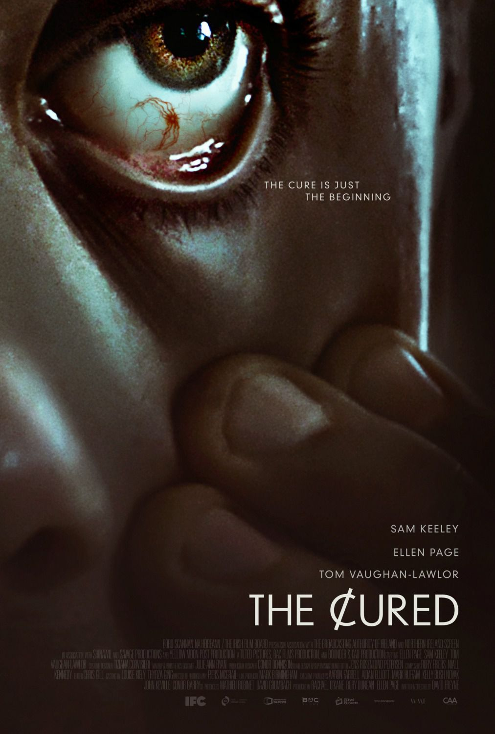 The Cured - film poster 2018 curata