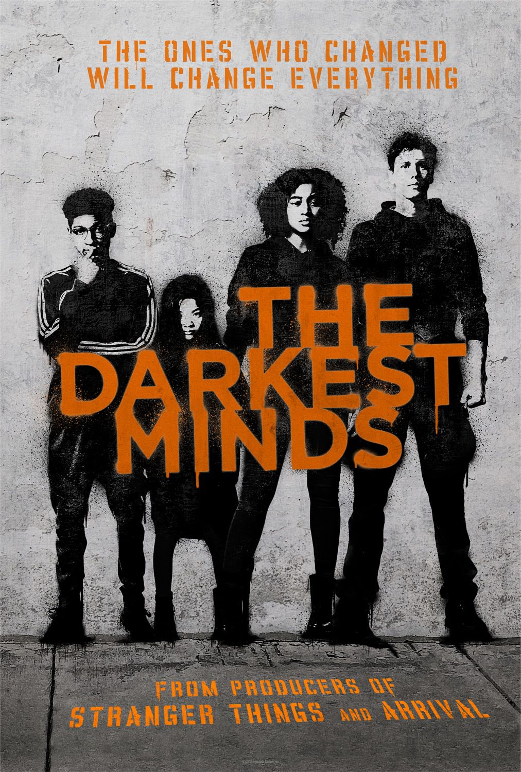 The Darkest Minds - fantascienza dna mutant film poster 2018