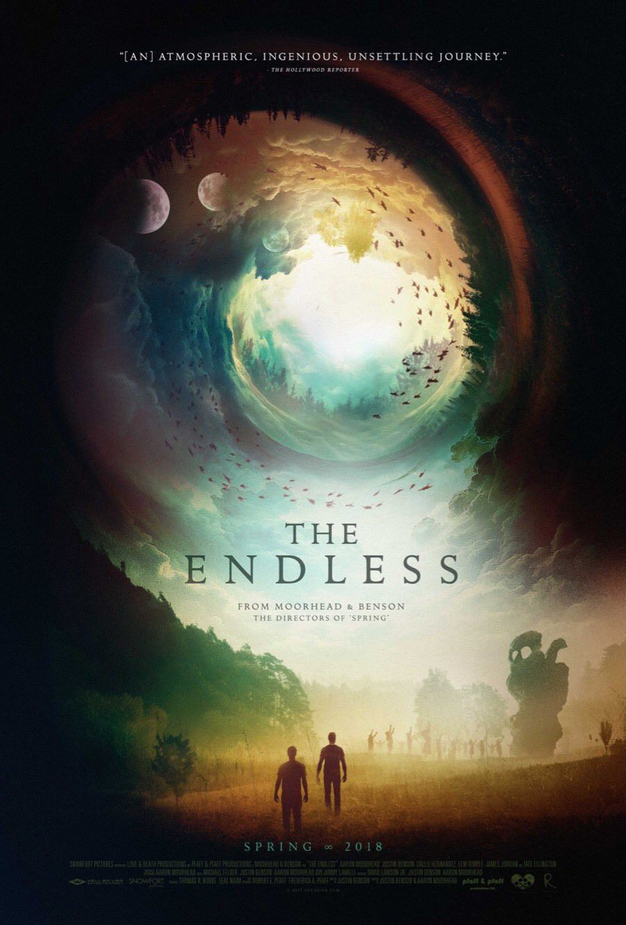 The Endless - scifi film poster 2018 fantascienza