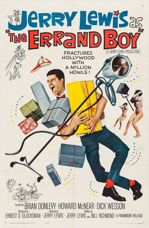 The Errand Boy - Il Mattatore di Hollywood (1961)