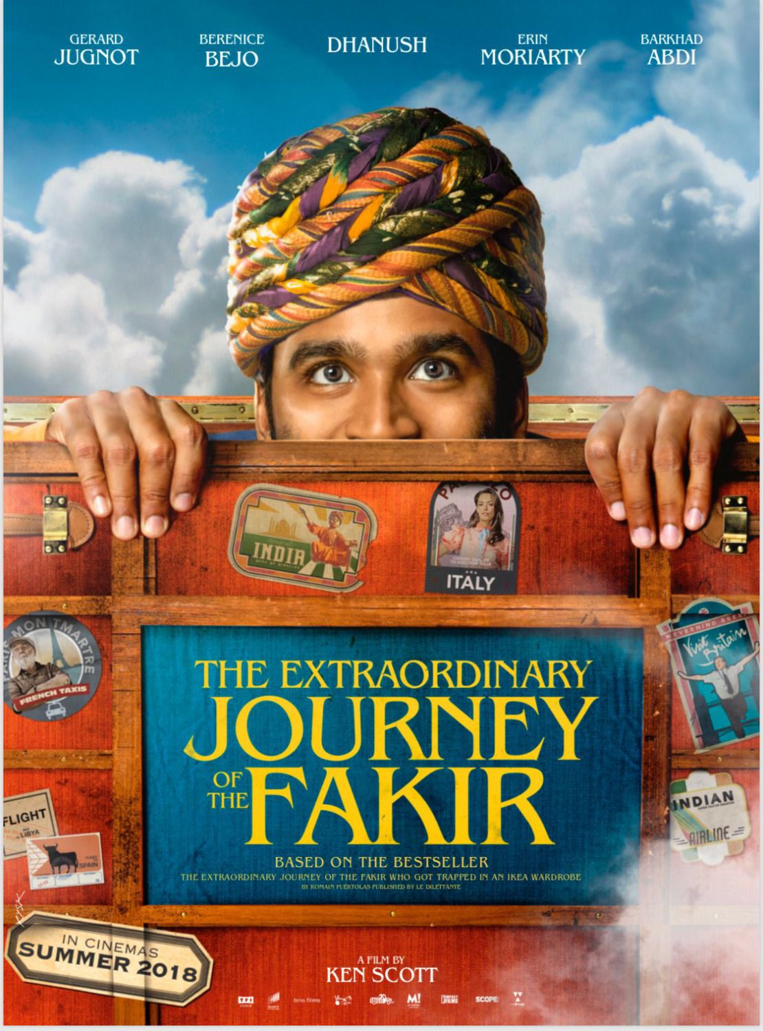 The Extraordinary Journey of the Fakir - film poster