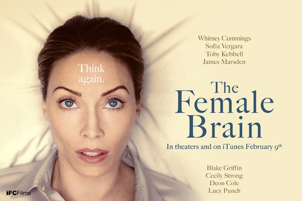 The Female Brain - Cervello Femminile - Film poster - Brinzendine Julia