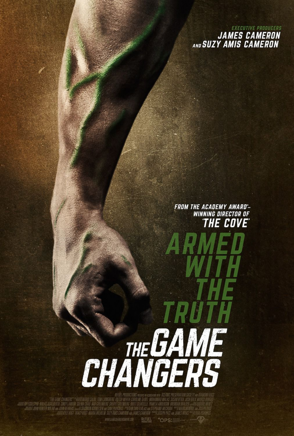 he Game Changers - Armed with the Truth - film poster 2018
