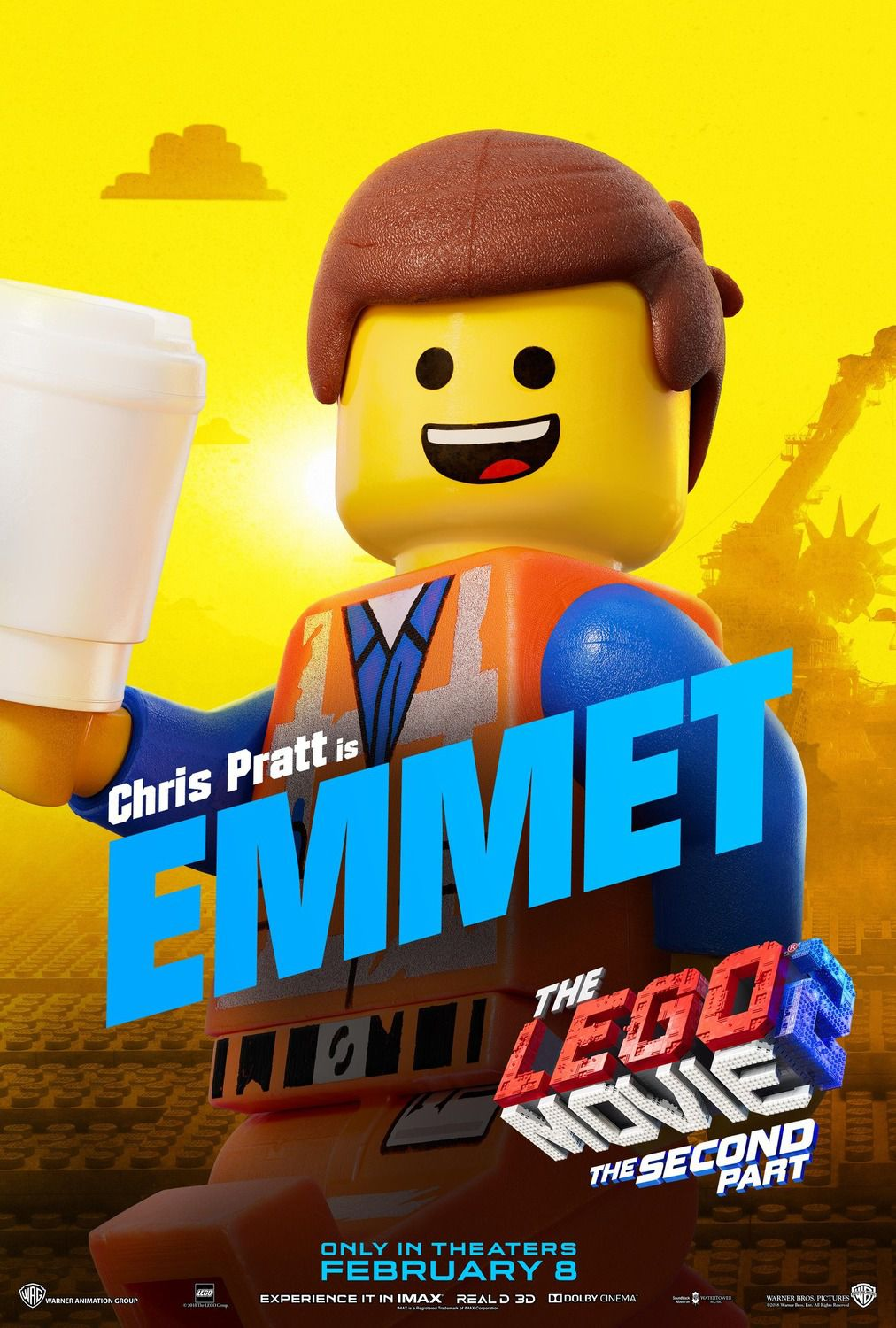 Chris Pratt is Emmet