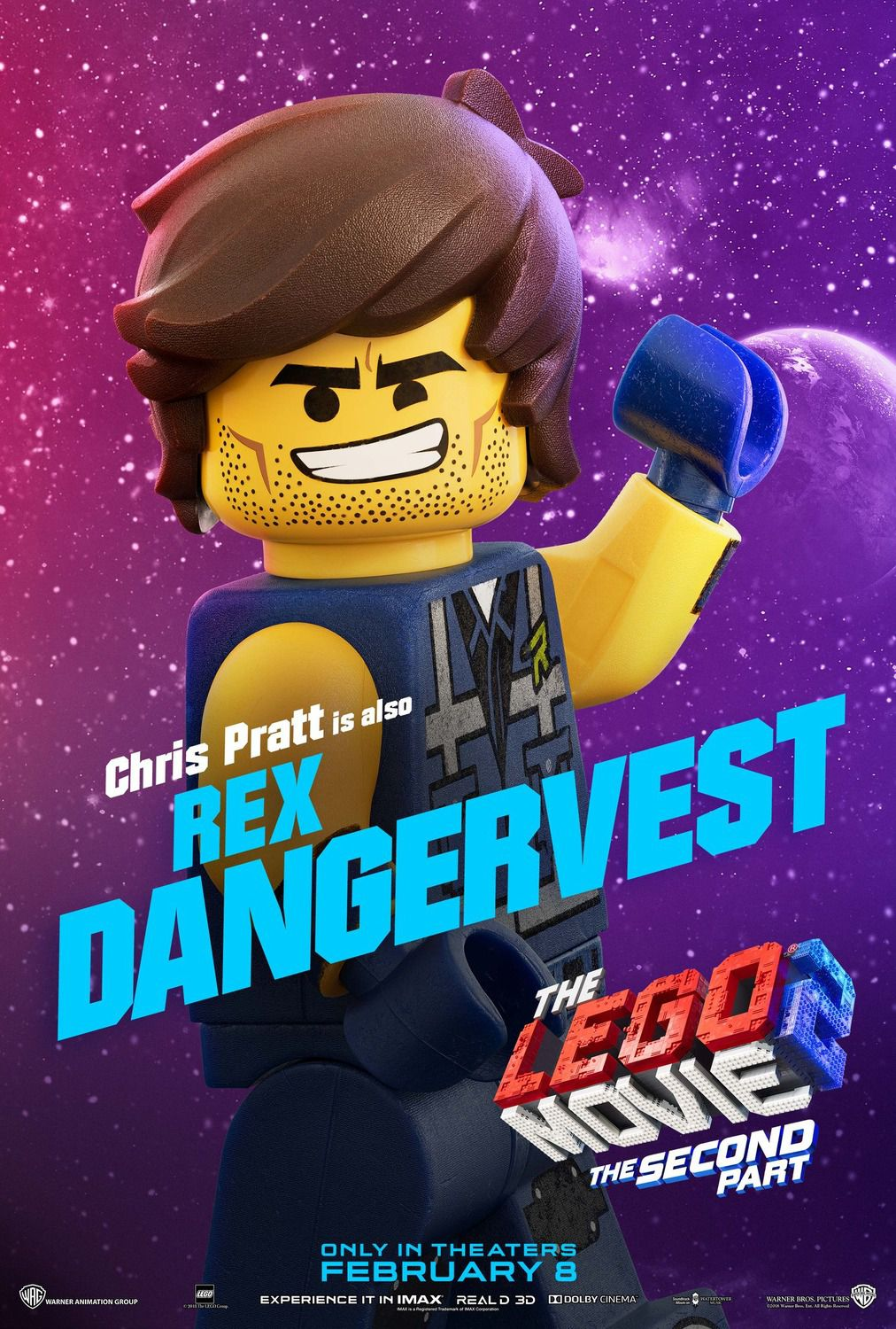 Chris Pratt is also Rex Dangervest