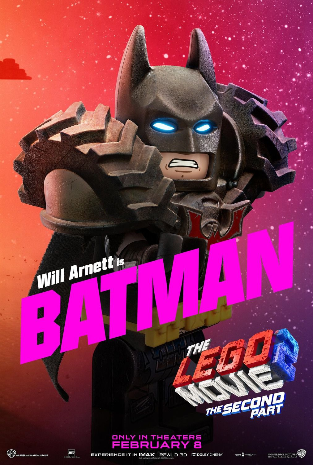 Will Arnett is Batman