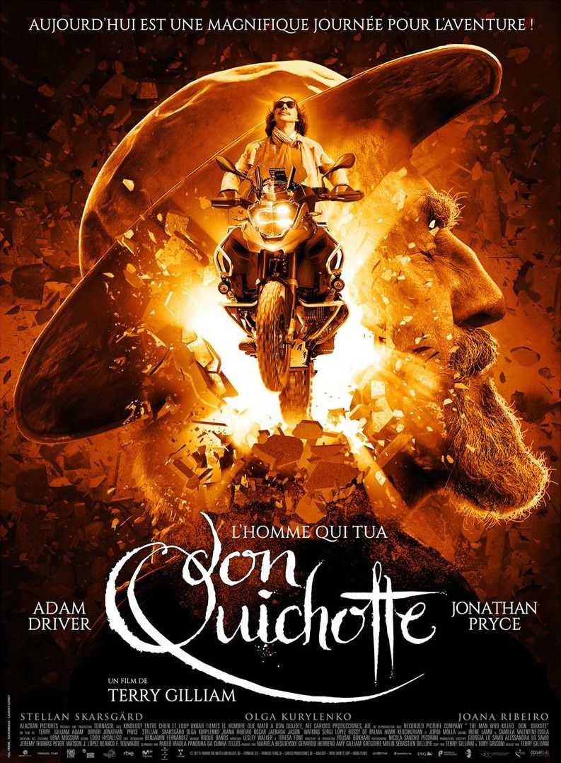 The Man who Killed Don Quixote - film poster 2018