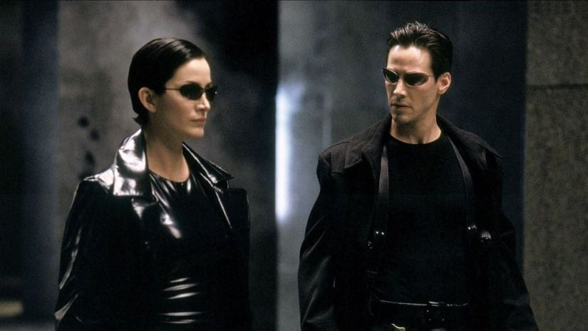 The Matrix 1999 Special Science fiction Movie with Keanu Reeves, Carrie-Anne Moss