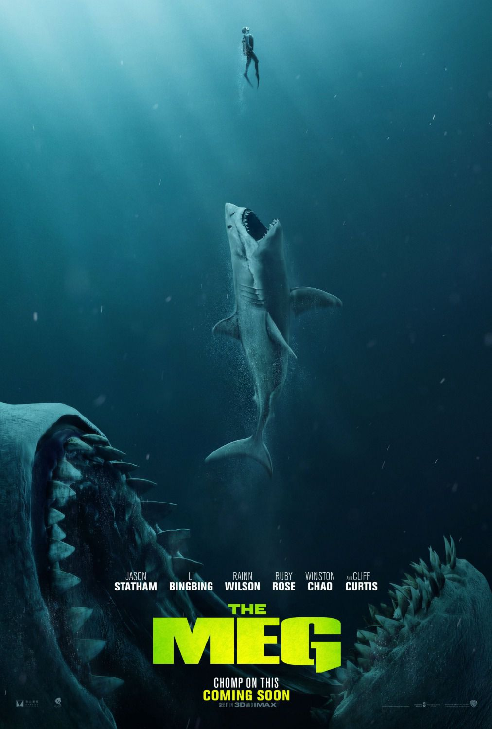 The Meg (2018) - Sea Megalodont
