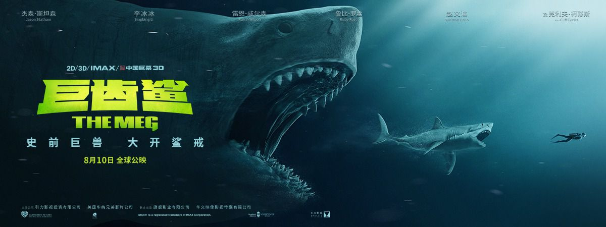 The Meg (2018) - greatest Shark from the deep