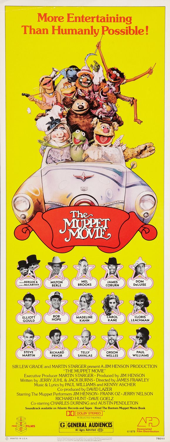 Muppets Movie (1979) - first movie, first love