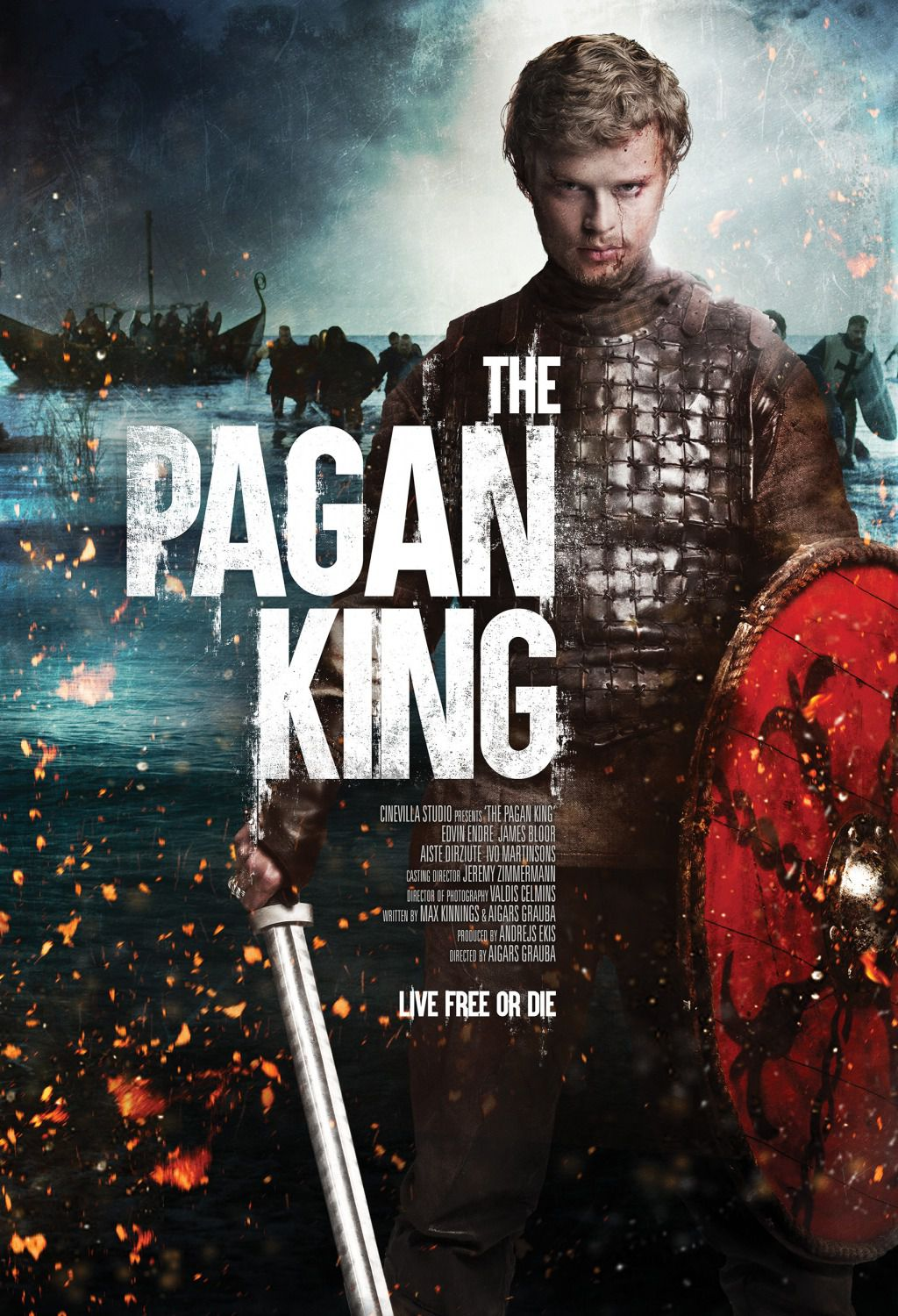 The Pagan King - Nameja Gredzens - film poster