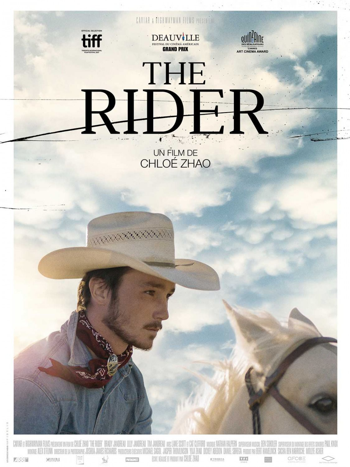 The Rider Brady Jandreau, Tim Jandreau, Lilly Jandreau, Cat Clifford - film poster