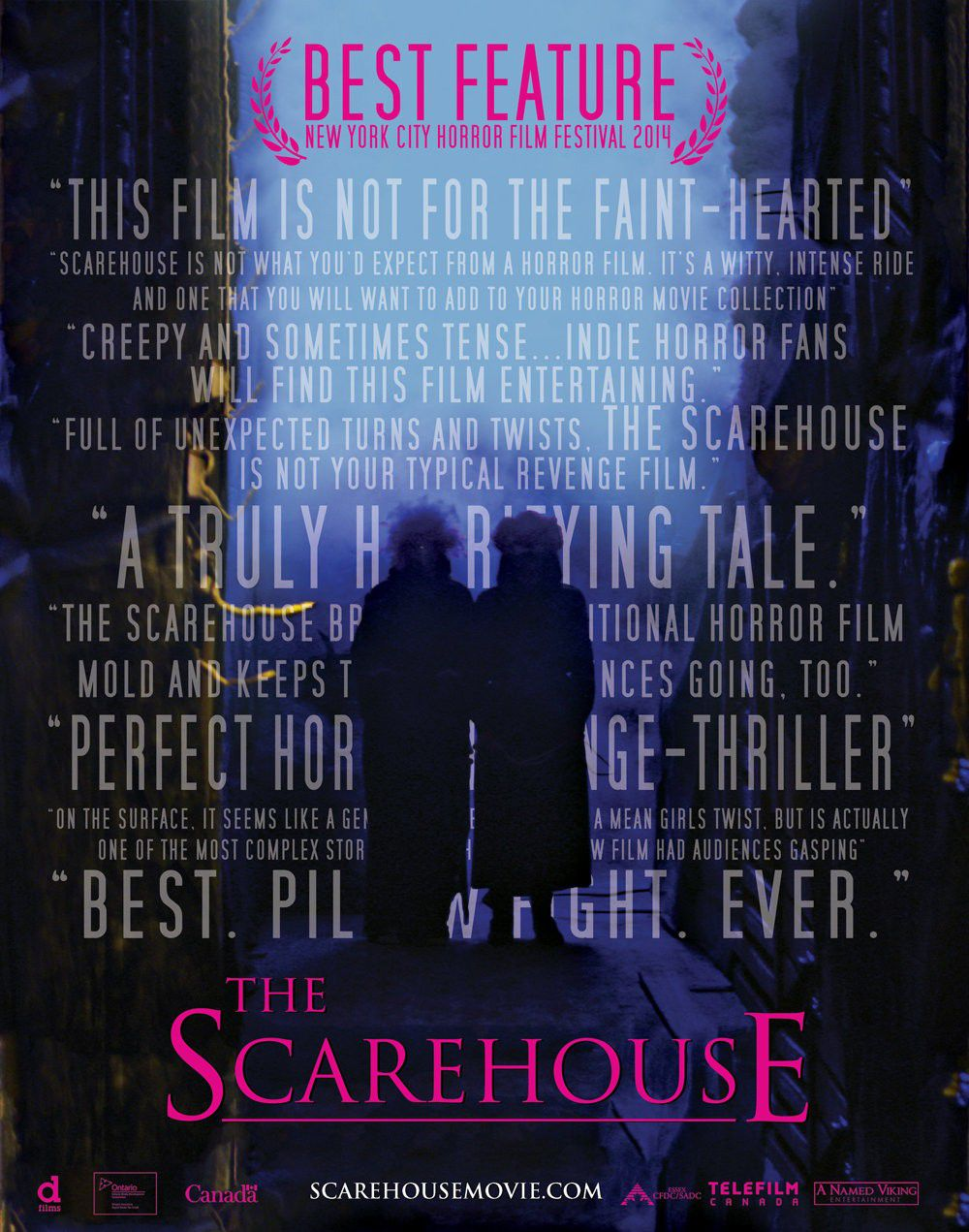 The Scarehouse - film horror poster
