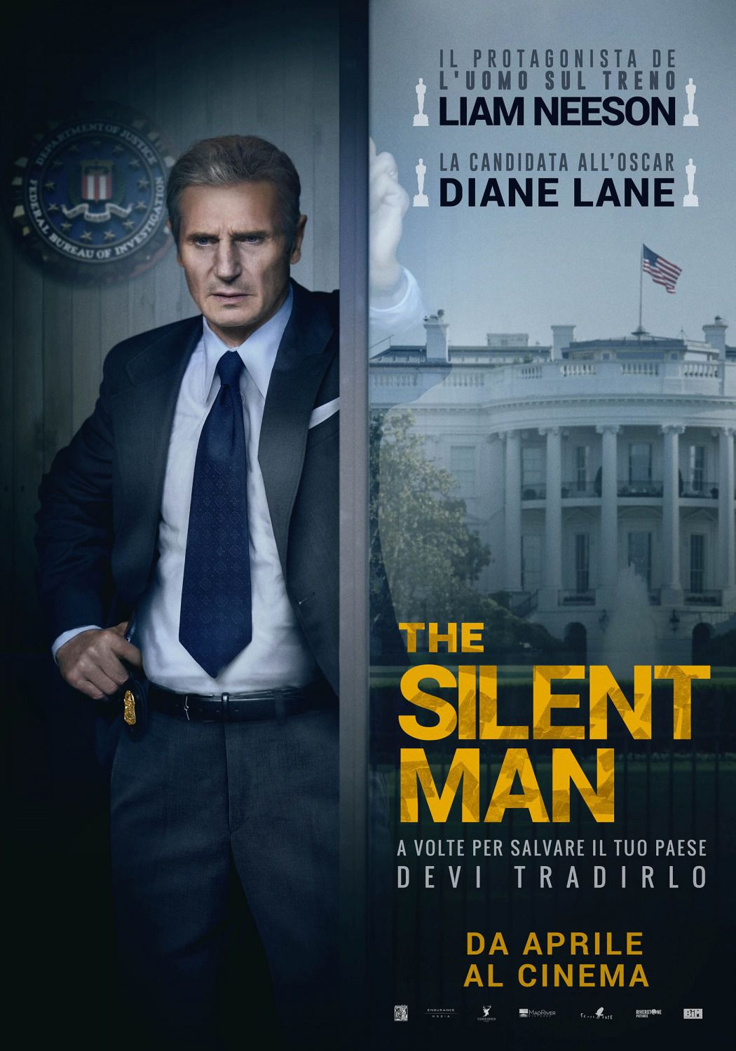 The Silent Man - Mark Felt the man who brought down the White House - film poster