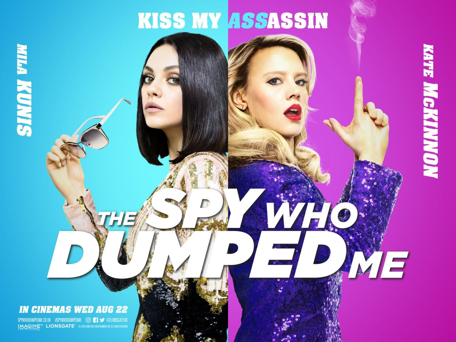 The Spy Who Dumped Me - Minimum experience. Maximum damage