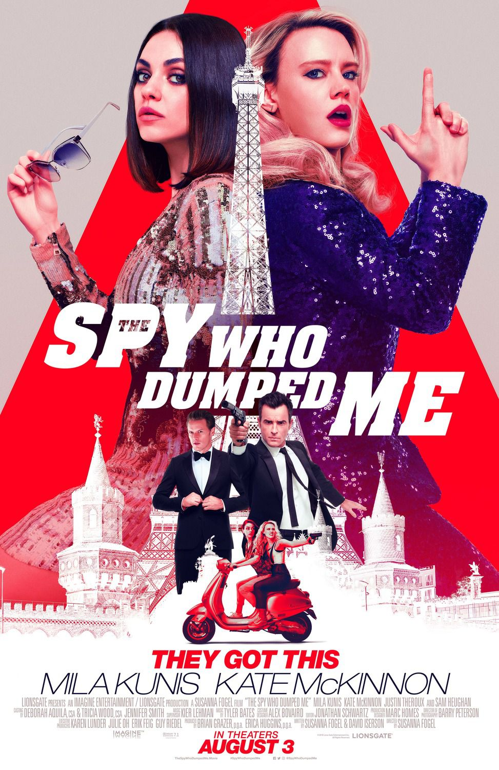 The Spy Who Dumped Me - film poster