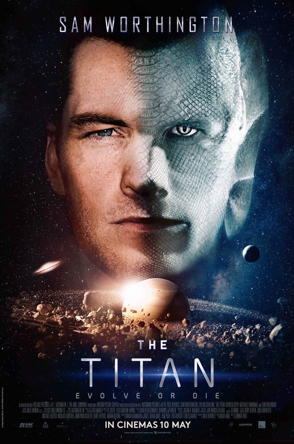 The Titan (2018) - film poster