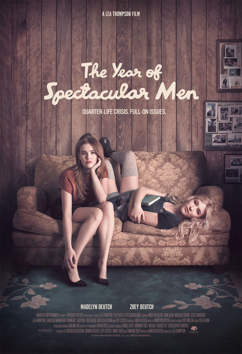 The Year of Spectacular Men - Cast: Madelyn Deutch, Zoey Deutch, Lea Thompson, Melissa Bolona film poster 2018