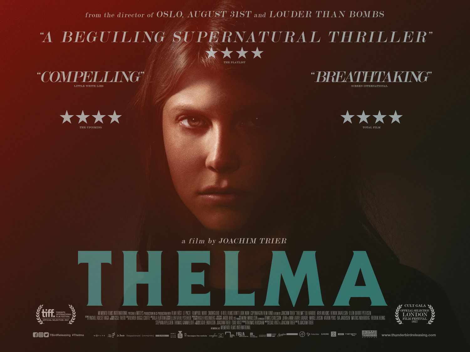Thelma - film poster 2018