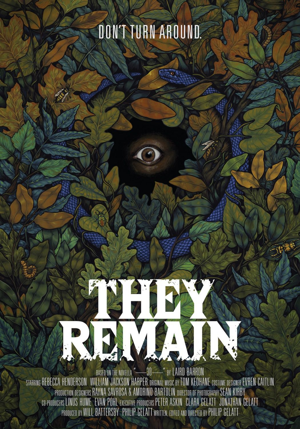 They Remain (2018) - film poster