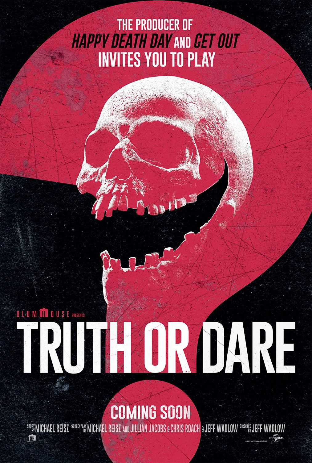 Truth or Dare - Obbligo o Verità - film poster 2018