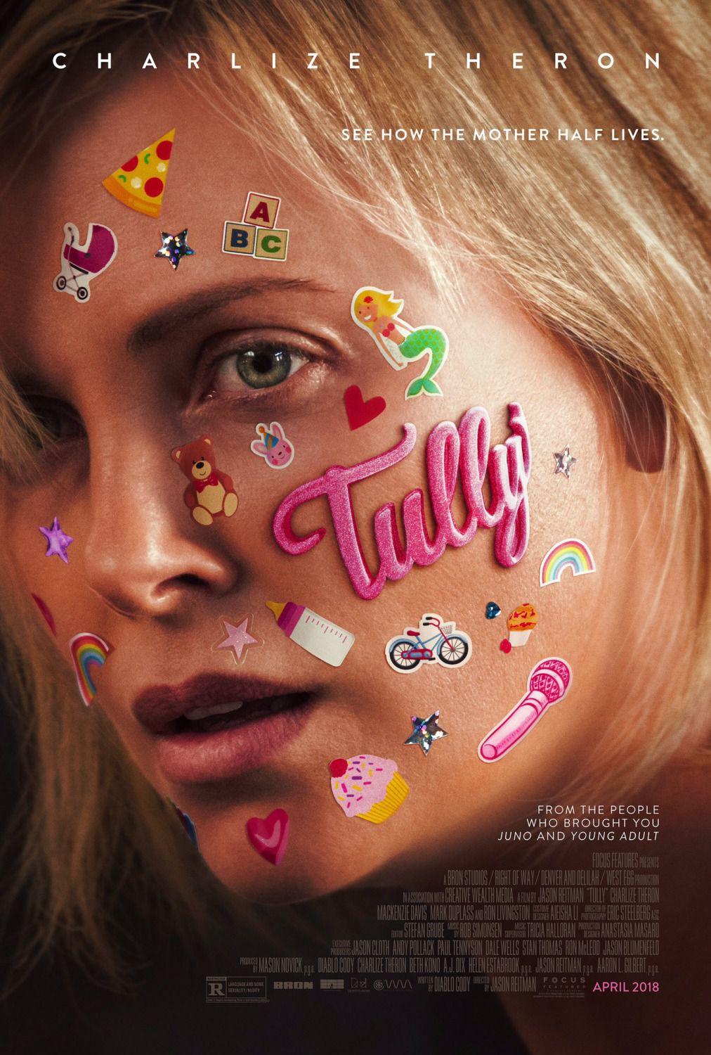 Tully - Charlize Theron - film poster