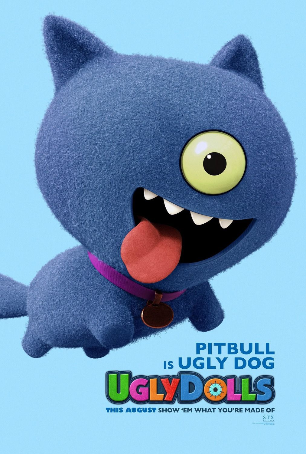 Pitbull is UglyDoll