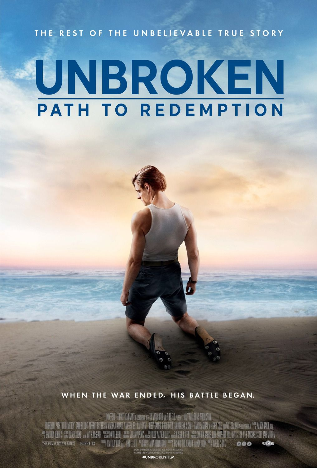 Unbroken path to Redemption - When the war ended, his battle began - the rest of unbelievable true story - film poster