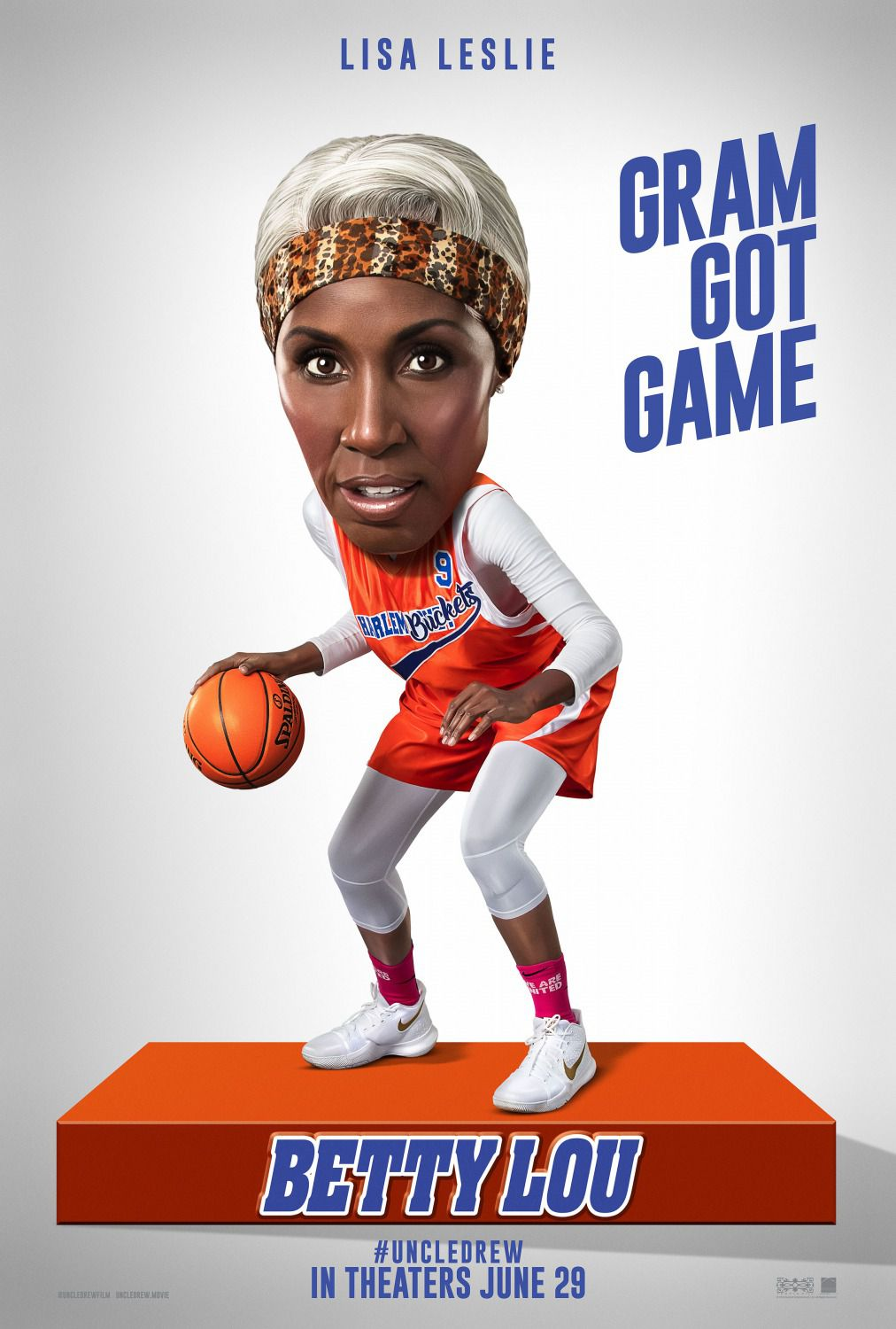 Lisa Leslie - Betty Lou