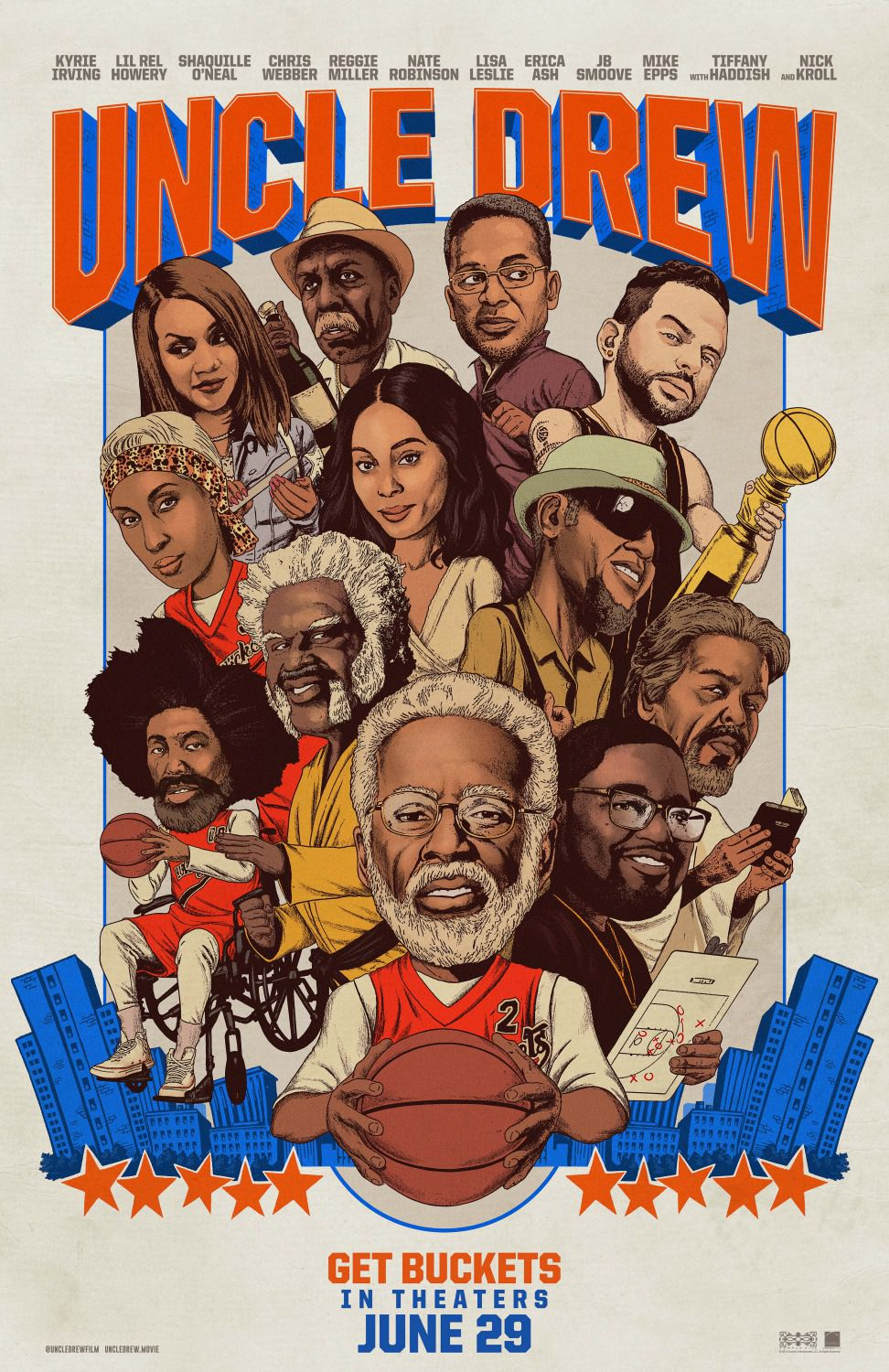 Uncle Drew - film poster