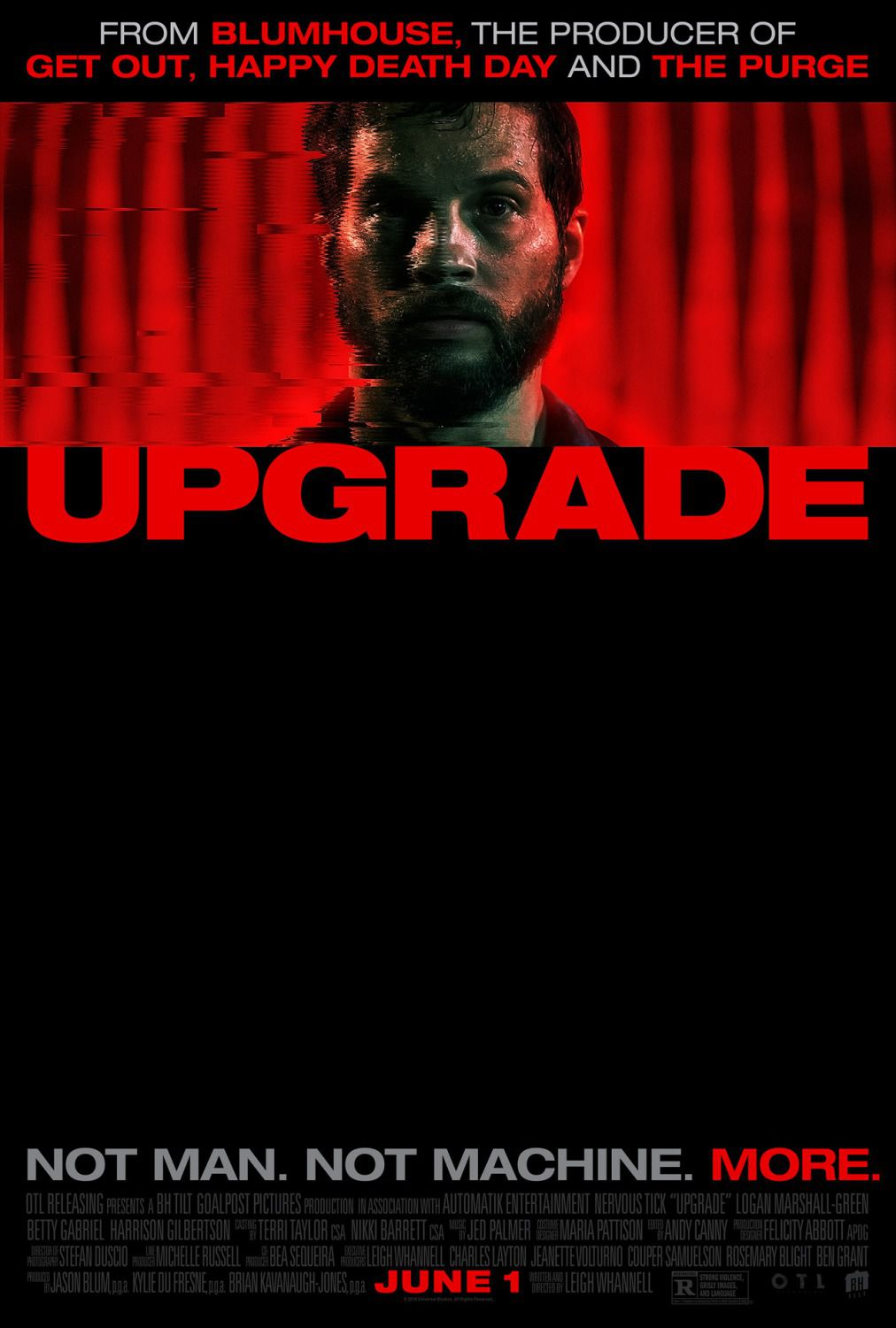 Upgrade - no Man, no Machine, more - film poster