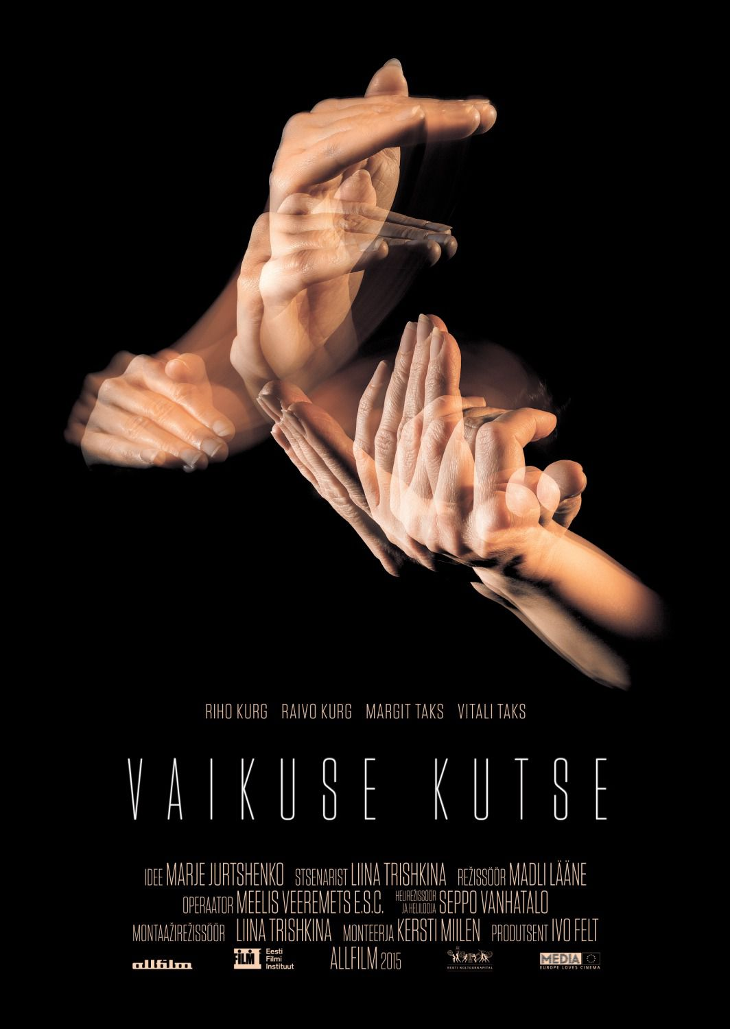 Vaikuse Kutse - Cast: Riho and Raivo Kurg, Margit and Vitali Taks - film poster 2018