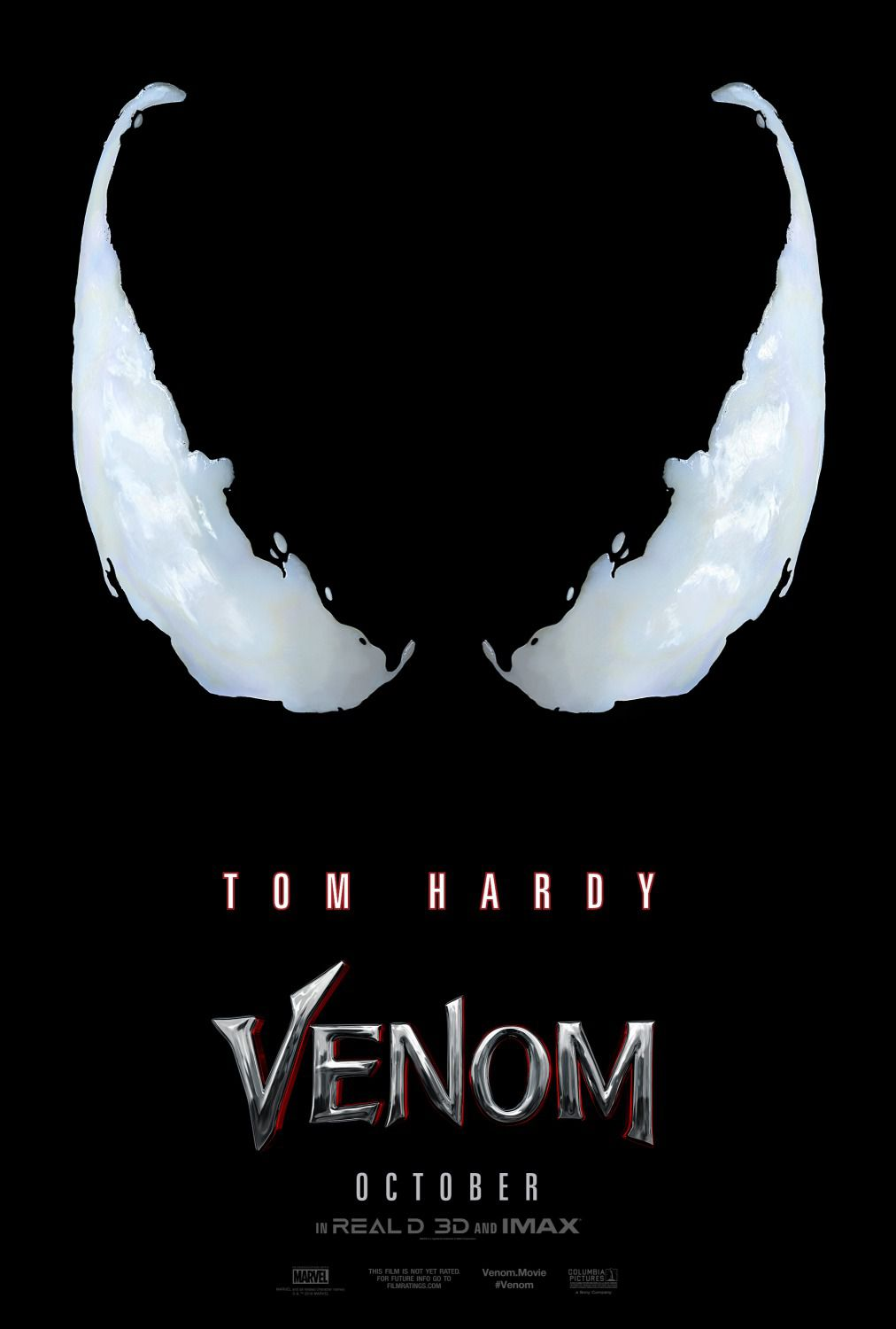 Venom (2018) - black live action super evil film