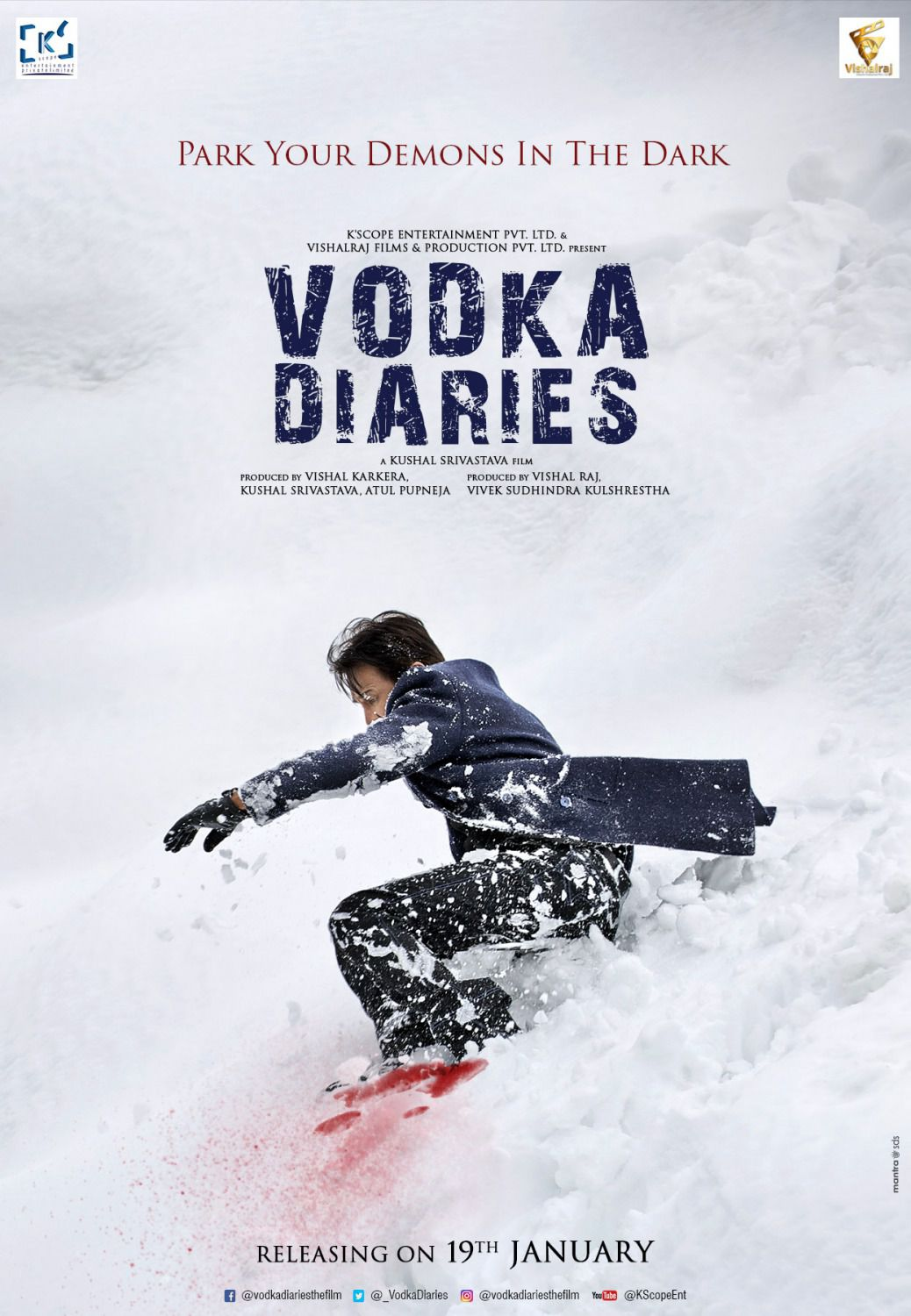 Vodka Diaries - snow and blood