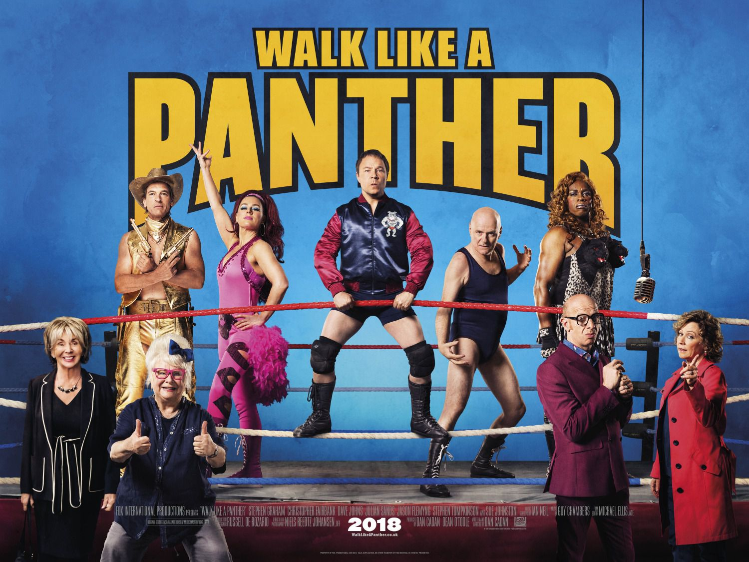Walk like a Panther - comedy film poster