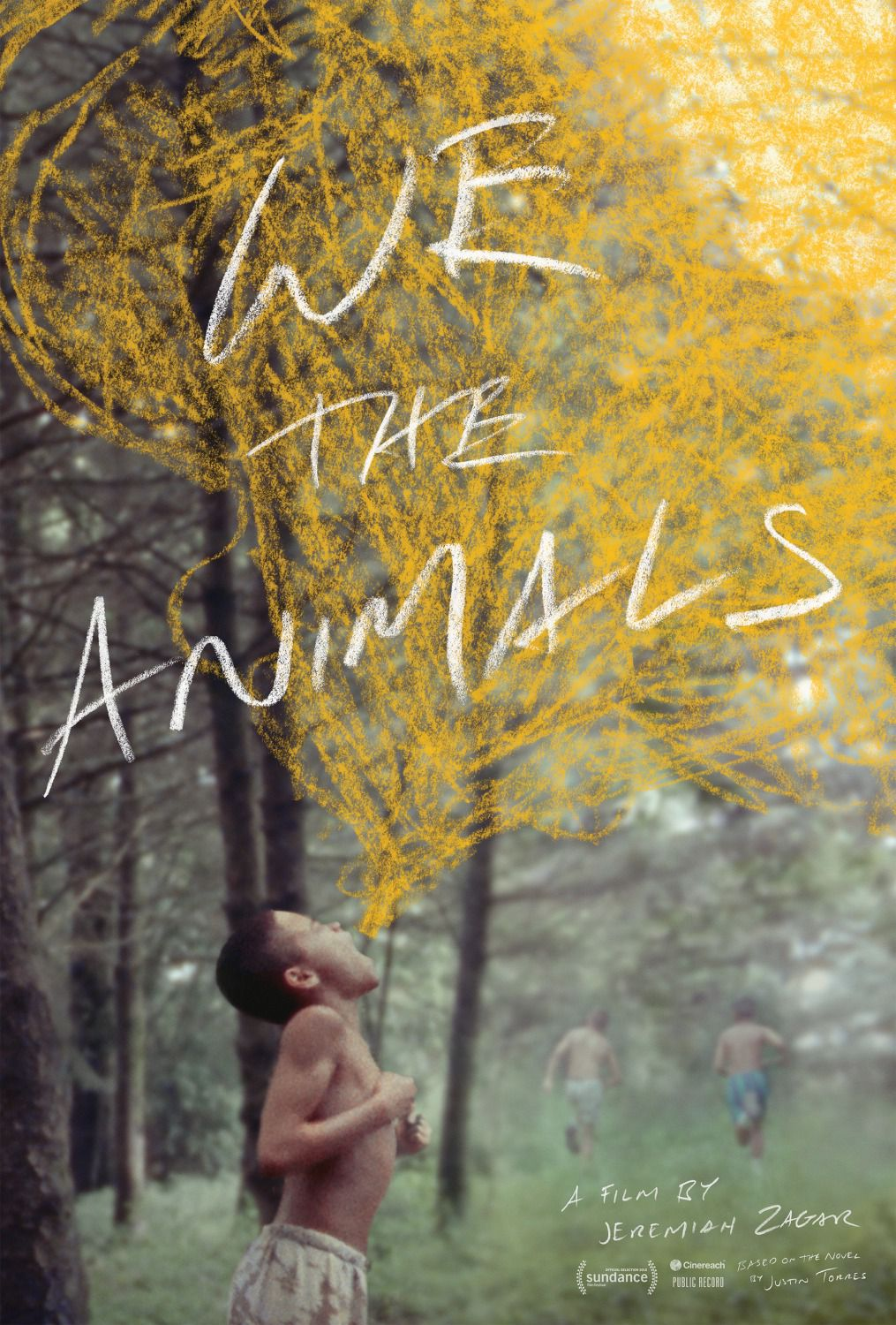 We the Animals - film poster 2018