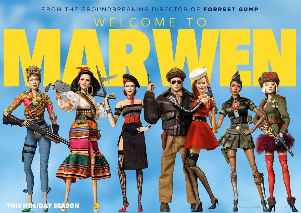Welcome to Marwen (2018) - film poster
