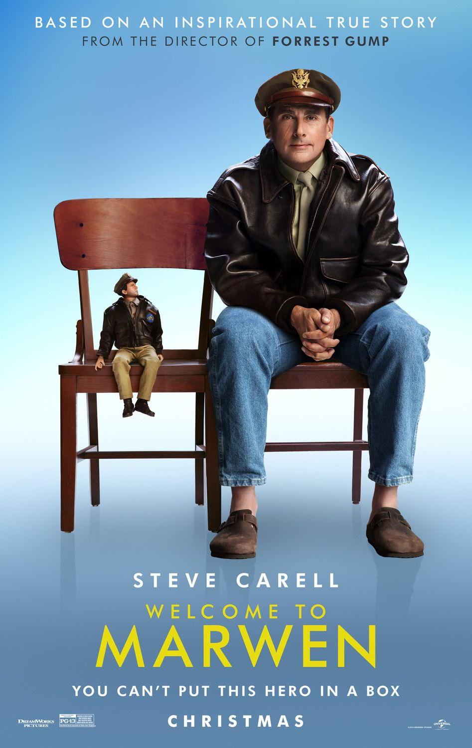 Welcome to Marwen 2018 You can't put this hero in a box - Steve Carell