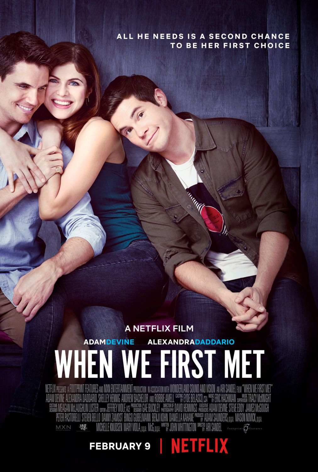 When We First Met - Quando ci siamo incontrati per la prima volta - Film Poster 2018