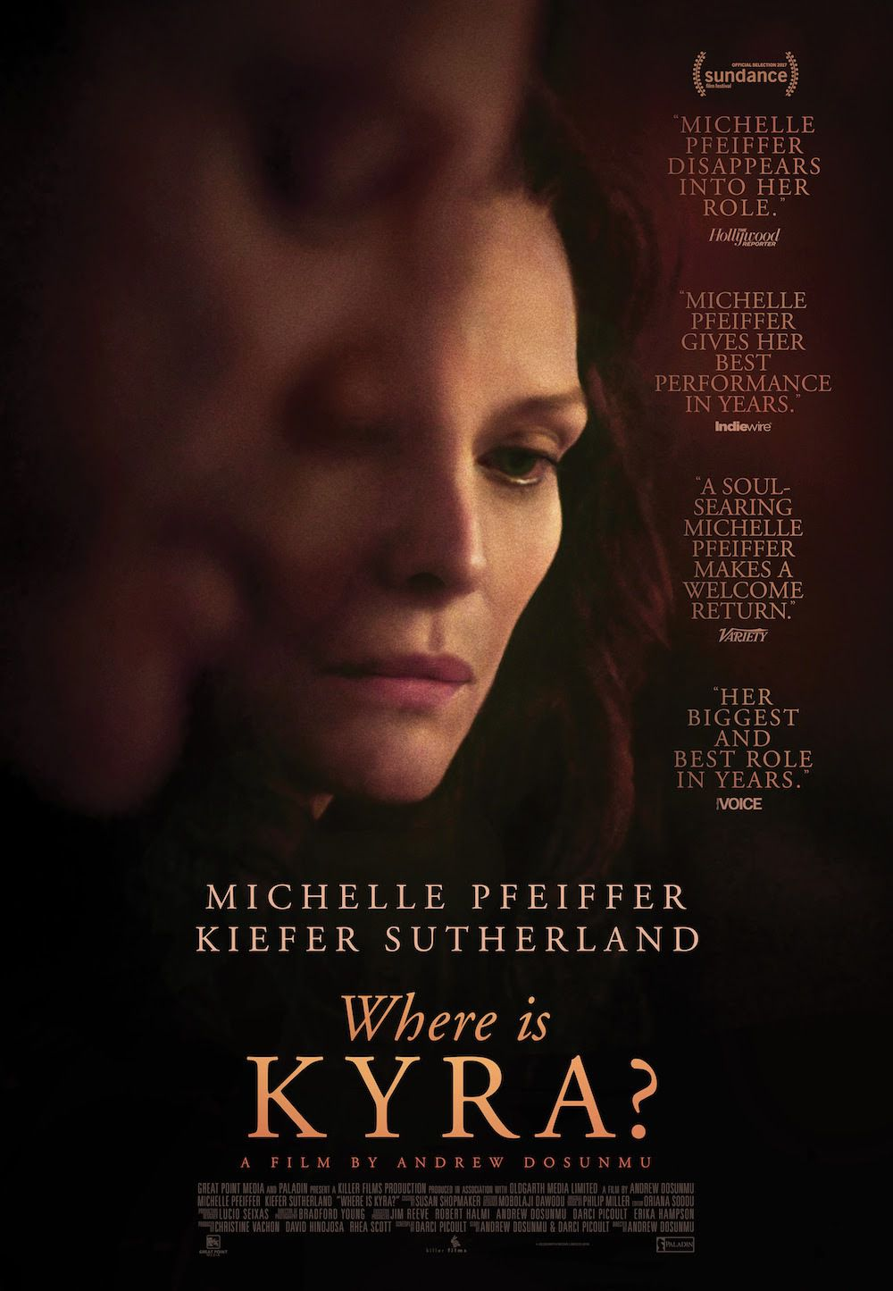 Where is Kyra (2018) - film poster