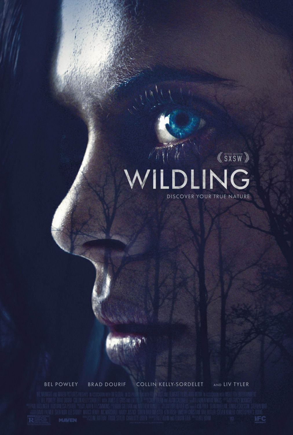 Wildling - Discover your true nature - Horror film poster