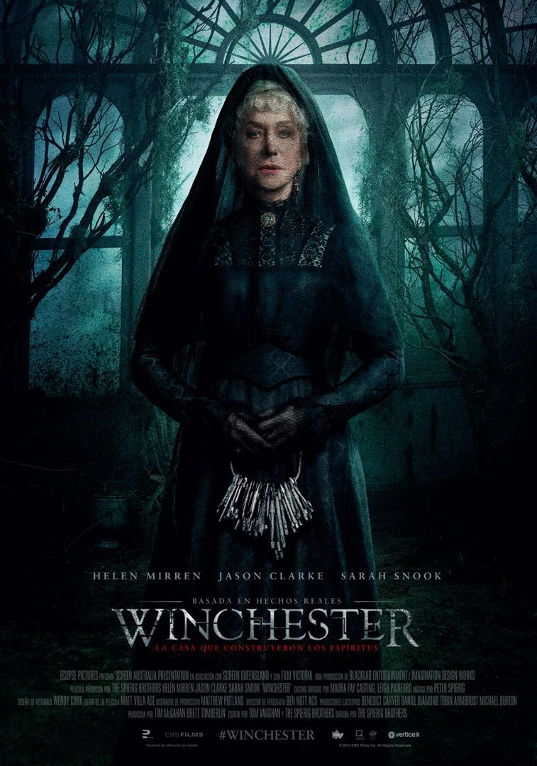 Winchester the House that Ghosts Built - she is not alone - Helen Mirren - Horror 2018