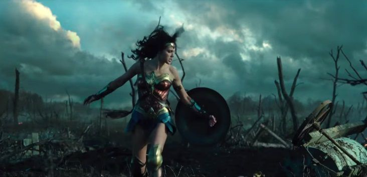 Wonder Woman battle no mans land