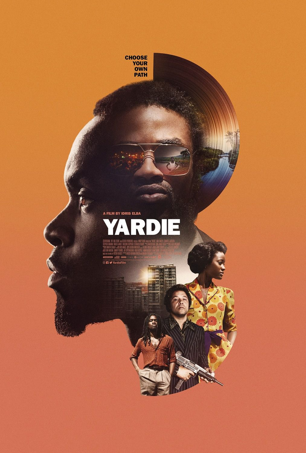 Yardie (2018) - orange poster